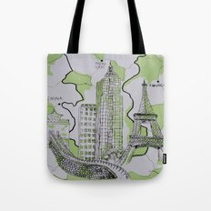 The World Traveler Tote Bag