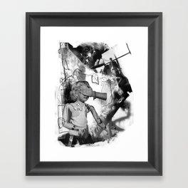 Nameless Victim Framed Art Print