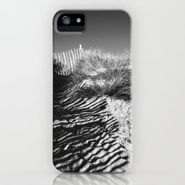 Fencing On The Beach iPhone Case