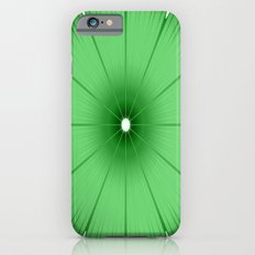 Green Flower Slim Case iPhone 6s