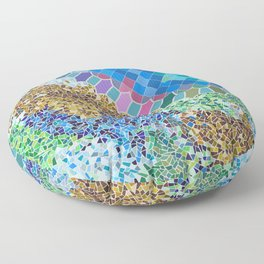 INSPIRED BY GAUDI Floor Pillow