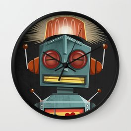 Toy Robot Wall Clock
