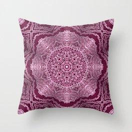 Mehndi Ethnic Style G456 Throw Pillow