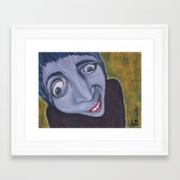 home alone Framed Art Prints featuring Home Alone by Practicing Voodoo