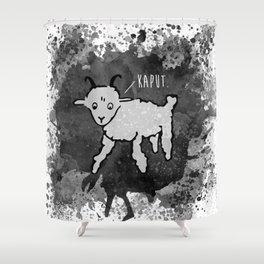 Mon Mouton Shower Curtain