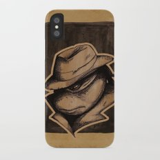 Anger Clouds The Mind iPhone X Slim Case