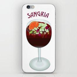 SANGRIA iPhone Skin