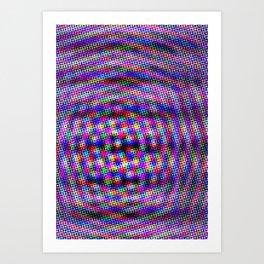 Violet Rays III Art Print