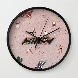 Bikram Wall Clock