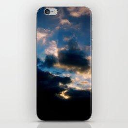 Angel sky iPhone Skin