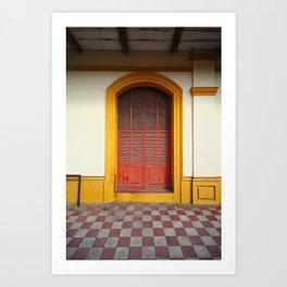 cache-cache Art Print