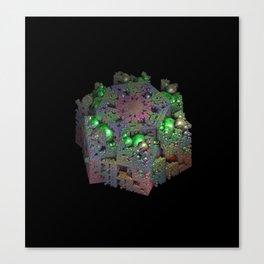 Bubbles and Boxes Canvas Print