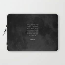 Call To Me Laptop Sleeve