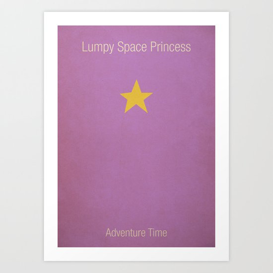 Adventure Time LSP Art Print