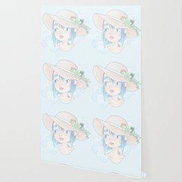 Mercury Blue Wallpaper