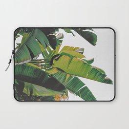 Banana Leaves IV {White} Laptop Sleeve