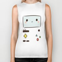 bmo Biker Tanks featuring BMO by I3uu