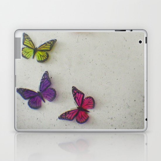 Oh to be a Butterfly Laptop & iPad Skin