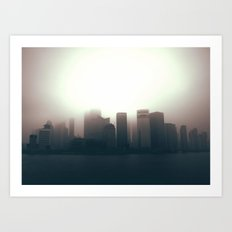 The Sun Also Rises in the Peoples' Republic Art Print