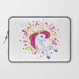 beautiful unicorn Laptop Sleeve