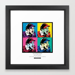 Art Gecko - TCU vs TTU 11/18/17 Framed Art Print