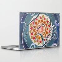 lotus Laptop & iPad Skins featuring Lotus by brenda erickson
