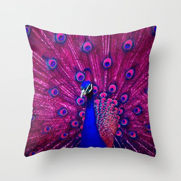Peacock Pink 85 Deko-Kissen