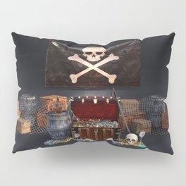 Pirate Treasure Pillow Sham