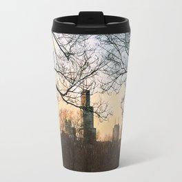 Late January Sunset Travel Mug