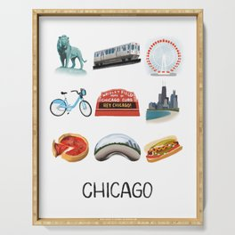 Chicago Serving Tray