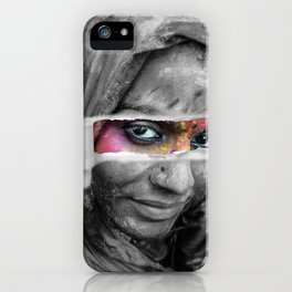 Holi Festival - Photo Manipulation iPhone Case