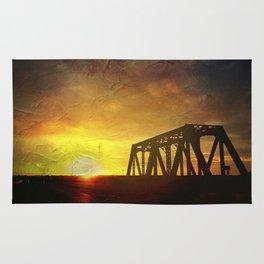 Bridge at Sunset Rug
