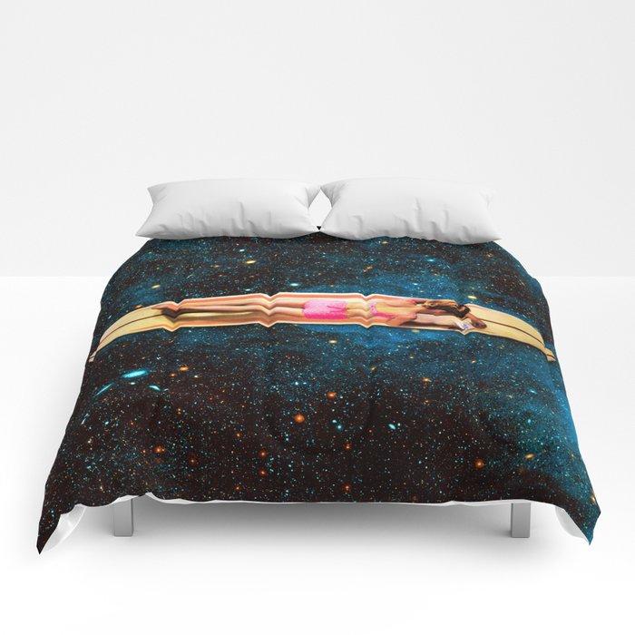 Pleiadian Surfer Comforters
