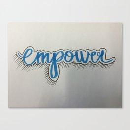 empower Canvas Print