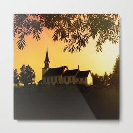 Richwood Lutheran Church Metal Print
