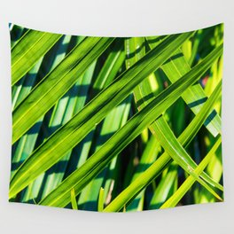 Golden Palm Wall Tapestry