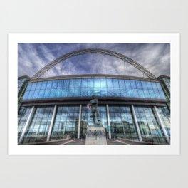 Wembley Stadium London Art Print
