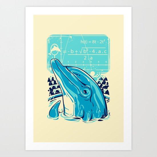 Aquatic problem Art Print