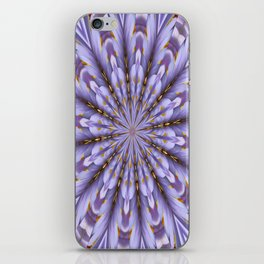 Lilac Kaleidoscope iPhone Skin