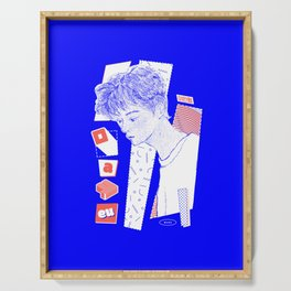 NCT DREAM MARK (Blue ver.) Serving Tray