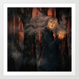 Flames & Ashes Art Print
