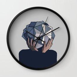 Mujer poliedro Wall Clock