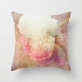 Vintage Roses - Vintage English Rose Throw Pillow