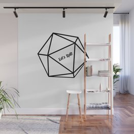 Let's Roll! D20 Wall Mural