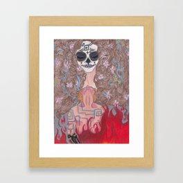 When The Nightmares... Framed Art Print