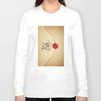 targaryen Long Sleeve T-shirts featuring HARRY POTTER ENVELOPE by Sophie