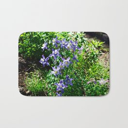 Columbines and Sunshine Bath Mat