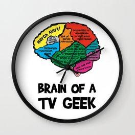 TV nerd Wall Clock