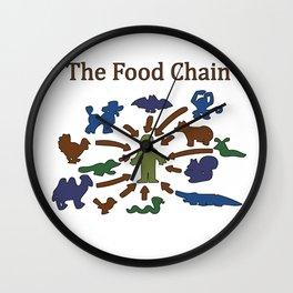 The Food Chain Wall Clock