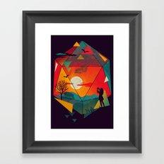 Capture the Moment Framed Art Print